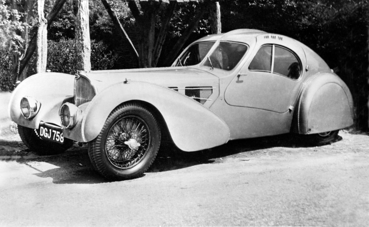 Bugatti Type 57 SC Atlantic, ab 1936