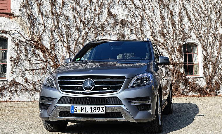 Mercedes ML 350 Front