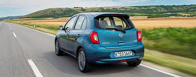 Nissan Micra Heck