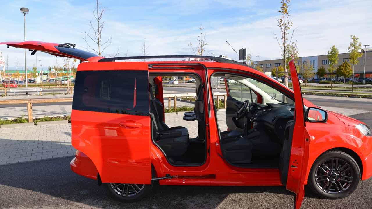 Ford Tourneo Courier Schiebetüren