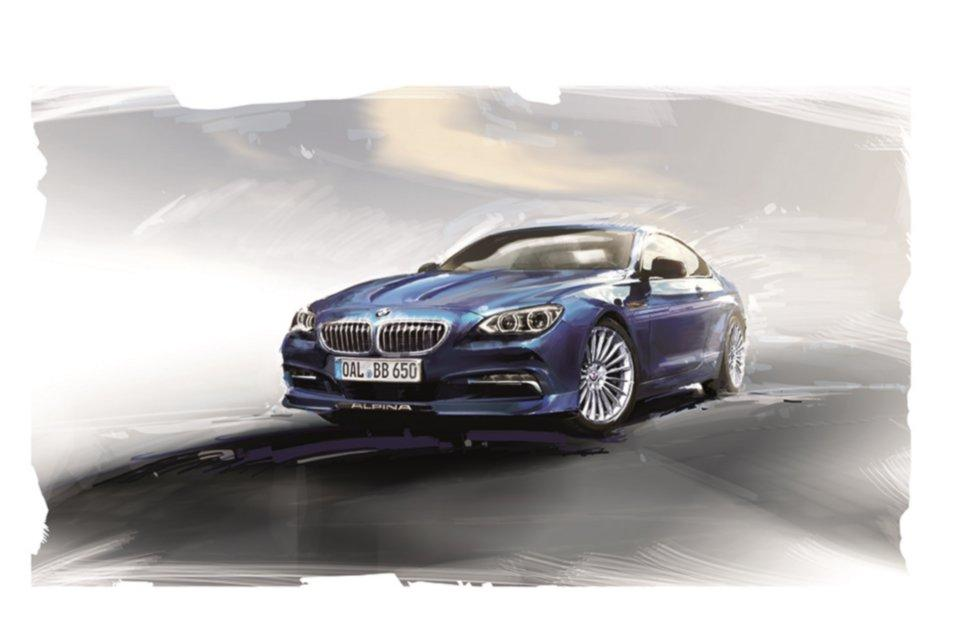 Das BMW Alpina B6 Biturbo Coupe als Edition 50.