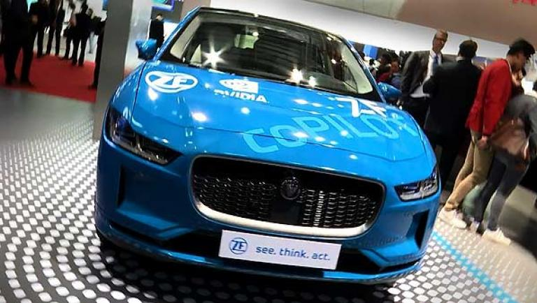 ZF coPILOT auf der Auto China Shanghai 2019