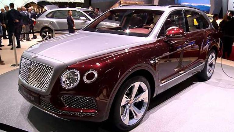 Bentley Genf 2018 Continental GT und Bentayga