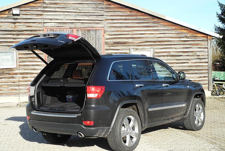 Jeep Grand Cherokee mit grosser Klappe