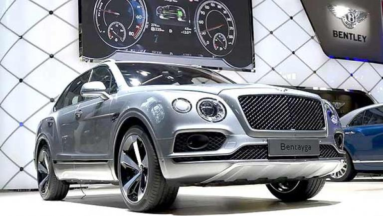Bentley auf auf der Autochina 2018