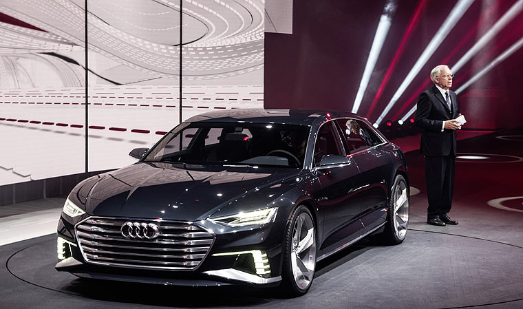Audi A9 Prologue Genfer Autosalon 2015