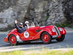 BMW 328 am Silvretta