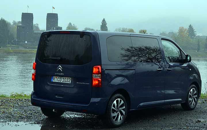 Citroen SpaceTourer Hinten Remagen