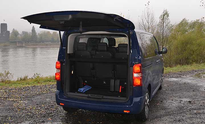 Citroen SpaceTourer Klappe