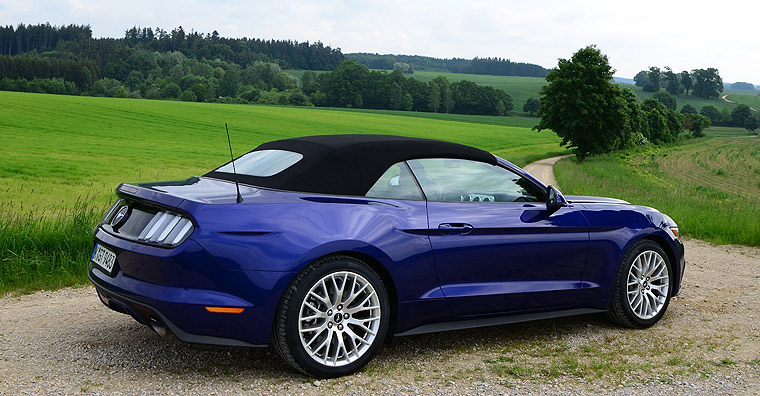 Ford Mustang Cabriolet Faltdach