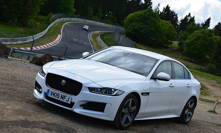 Jaguar XE am Nürburgring