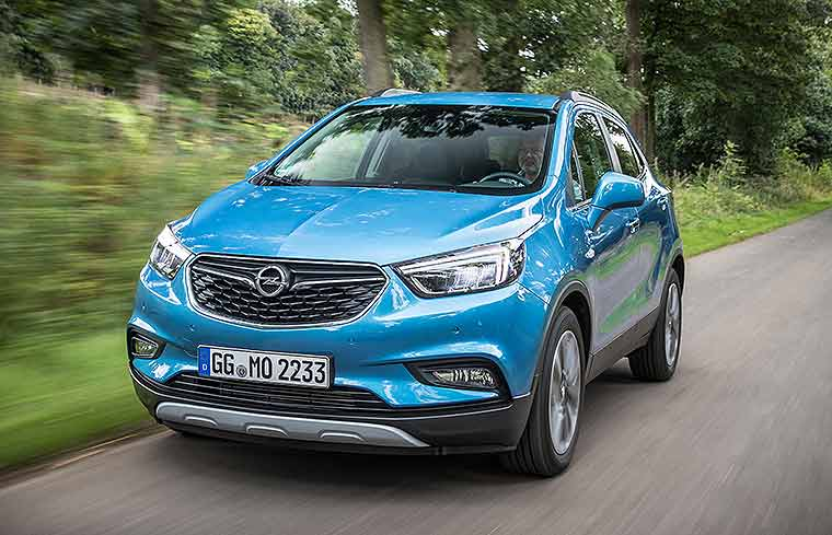 opel mokka x facelift f r kompakt suv. Black Bedroom Furniture Sets. Home Design Ideas