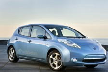 NISSAN LEAF VOR DEM START