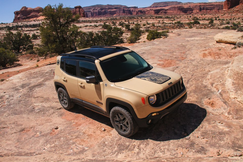 Ab November in Deutschland verfgbar: Jeep Renegade als Sondermodell Desert Hawk | Foto: Jeep