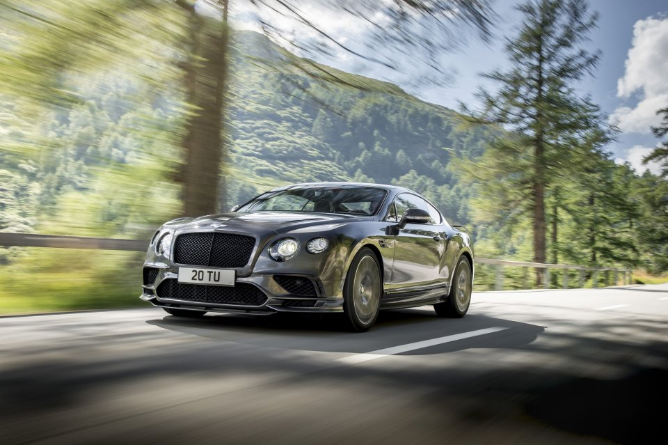 Dieser Bentley brennt Löcher in den Asphalt: Continental Supersports | Foto: Bentley