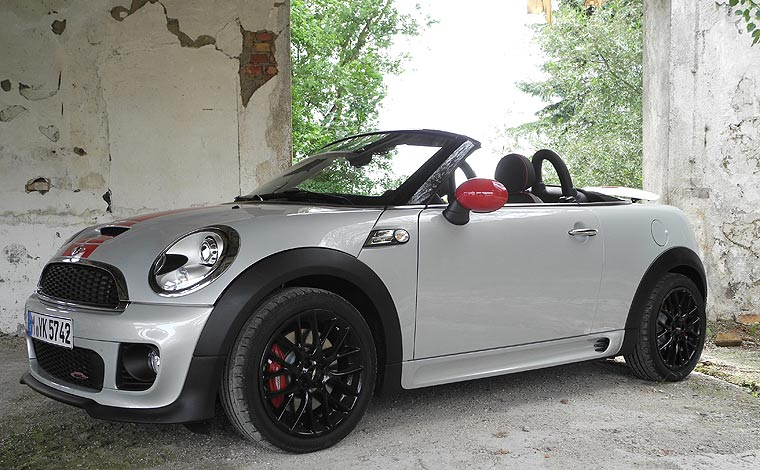 mini john cooper works roadster freiheit. Black Bedroom Furniture Sets. Home Design Ideas
