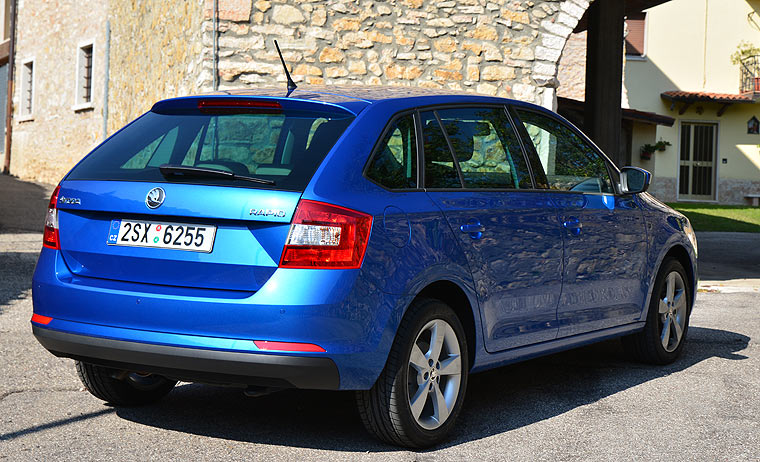 Skoda Rapid Spaceback Neuwagen