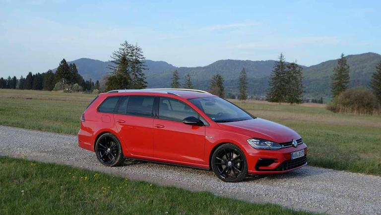 VW Golf R 4MOTION Variant 2.0 TSI