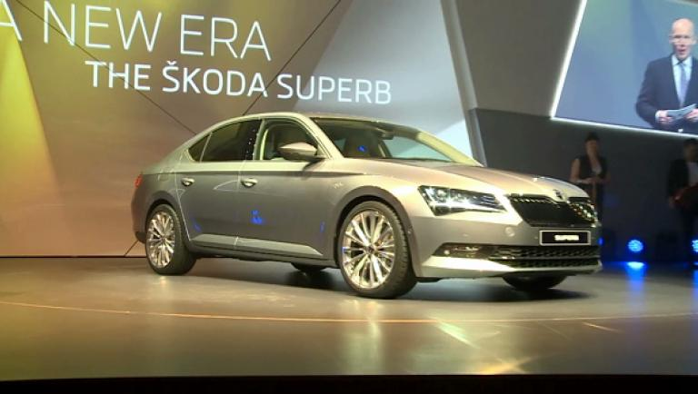 Skoda Superb Weltpremiere