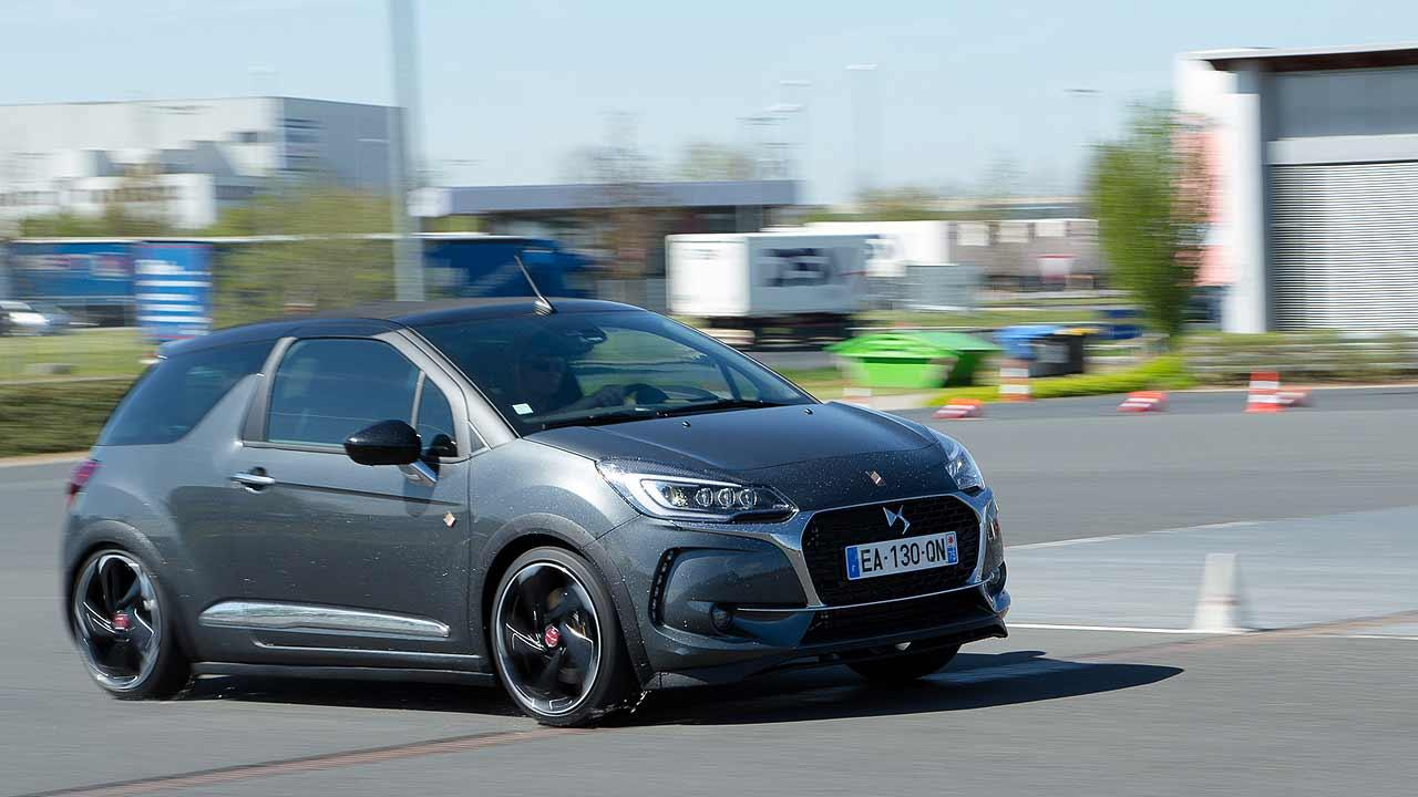 Testfahrt DS 3 Performance