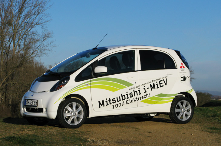 mitsubishi i miev auf einem guten weg. Black Bedroom Furniture Sets. Home Design Ideas